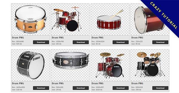 【爵士鼓PNG】精選23款爵士鼓PNG點陣圖免費下載,免費的爵士鼓去背圖檔