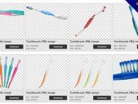 【牙刷PNG】精選30款牙刷PNG點陣圖下載,免費的牙刷去背圖片