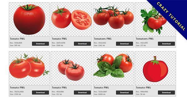 【番茄PNG】精選90款番茄PNG點陣圖免費下載,免費的番茄去背圖檔