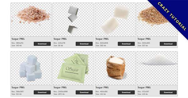 【砂糖PNG】精選33款砂糖PNG圖案素材下載,免費的砂糖去背圖檔