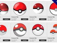 【神奇寶貝球PNG】精選35款神奇寶貝球PNG圖片免費下載,免費的神奇寶貝球去背點陣圖