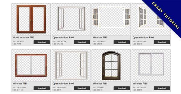【窗戶PNG】精選71款窗戶PNG圖片下載,免費的窗戶去背點陣圖