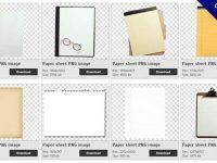 【紙張PNG】精選31款紙張PNG點陣圖免費下載,免費的紙張去背圖檔