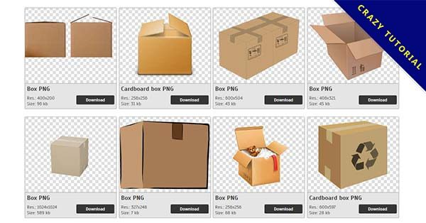 【紙箱PNG】精選151款紙箱PNG點陣圖下載,免費的紙箱去背圖檔