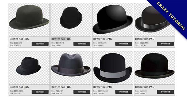 【紳士帽PNG】精選44款紳士帽PNG圖檔素材免費下載,免費的紳士帽去背點陣圖