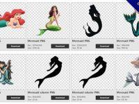 【美人魚PNG】精選106款美人魚PNG點陣圖素材下載,免費的美人魚去背點陣圖