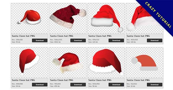 【聖誕帽PNG】精選94款聖誕帽PNG圖片素材免費下載,免費的聖誕帽去背點陣圖