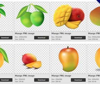【芒果PNG】精選26款芒果PNG圖案素材免費下載,免費的芒果去背點陣圖