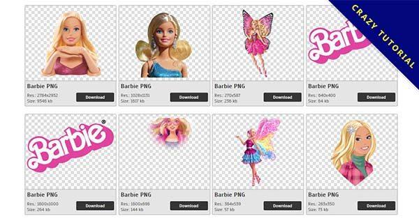 【芭比娃娃PNG】精選62款芭比娃娃PNG圖檔素材下載,免費的芭比娃娃去背圖檔