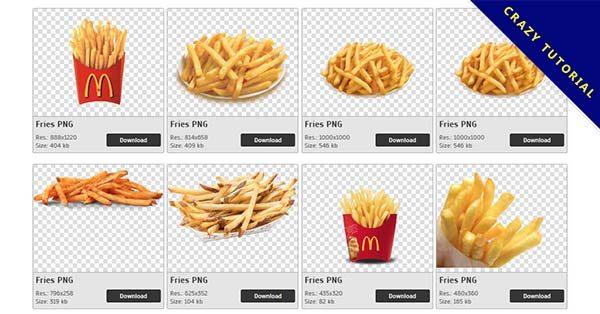 【薯條PNG】精選77款薯條PNG圖檔素材下載,免費的薯條去背圖片