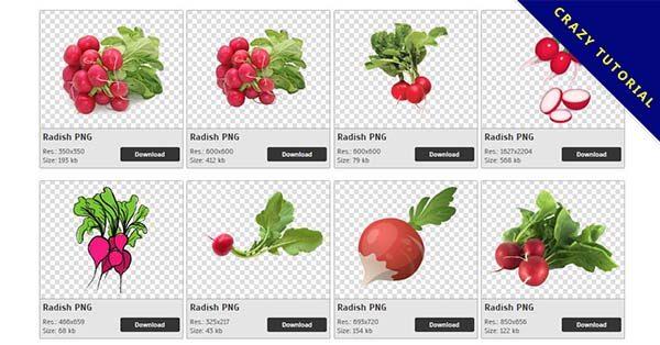 【蘿蔔PNG】精選56款蘿蔔PNG圖檔下載,免費的蘿蔔去背圖檔