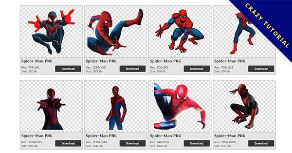 【蜘蛛人PNG】精選98款蜘蛛人PNG圖檔素材包下載,免費的蜘蛛人去背圖片