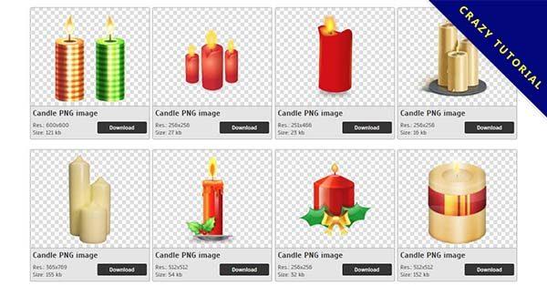 【蠟燭PNG】精選60款蠟燭PNG點陣圖素材包下載,免費的蠟燭去背點陣圖