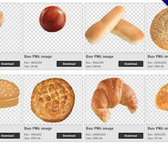 【西點麵包PNG】精選57款西點麵包PNG點陣圖免費下載,免費的西點麵包去背圖案