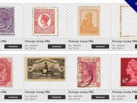 【郵票PNG】精選119款郵票PNG圖檔素材下載,免費的郵票去背圖片