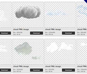 【雲PNG】精選33款雲PNG圖片免費下載,免費的雲去背圖案