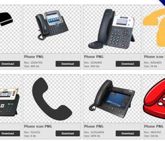 【電話PNG】精選193款電話PNG點陣圖素材下載,免費的電話去背點陣圖