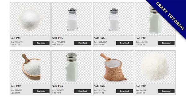 【鹽巴PNG】精選30款鹽巴PNG圖檔素材包下載,免費的鹽巴去背圖案