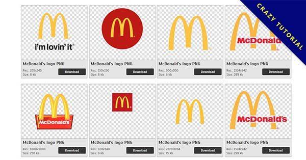 【麥當勞標誌PNG】精選23款麥當勞標誌PNG點陣圖素材免費下載,免費的麥當勞標誌去背圖片
