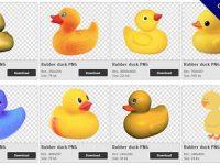 【黃色小鴨PNG】精選56款黃色小鴨PNG圖檔素材下載,免費的黃色小鴨去背圖片