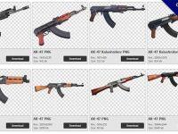【AK47步槍PNG】精選0款AK47步槍PNG圖案素材包下載,免費的AK47步槍去背圖檔