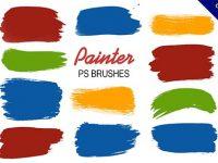 【油畫筆刷】13款優質的photoshop油畫筆刷下載