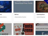 【字體網站】18個國外字體設計網站推薦,英文字體排版範例