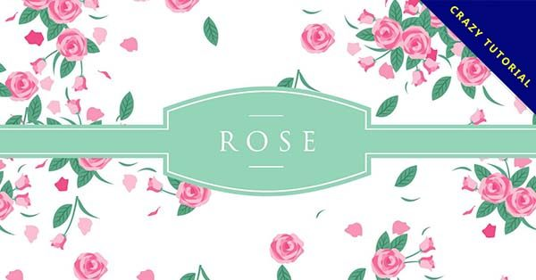 【玫瑰素材】20款完美的玫瑰素材下載,精品向量圖推薦