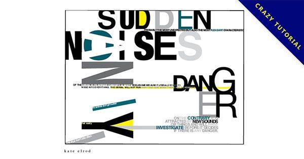 【海報文字排版】22張有創意感海報文字排版的作品圖示推薦
