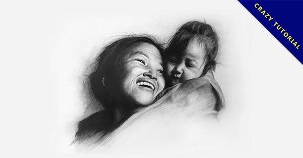 【素描作品】26套極美鉛筆素描作品的作品範本推薦