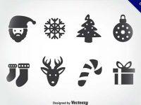 【聖誕卡片素材】41套高質量的聖誕卡片素材下載,完美圖案推薦