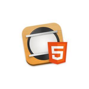 創建精美的HTML5網頁內容。無需編碼