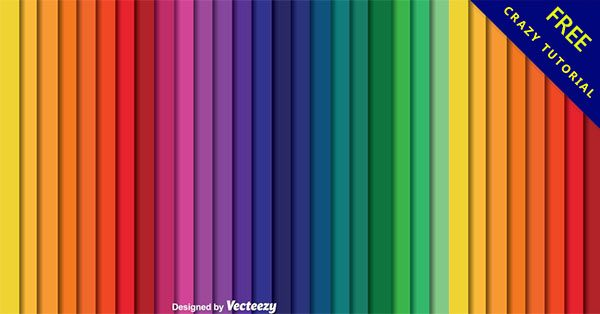 【彩虹背景】乾貨推薦:19個可愛的彩虹背景下載