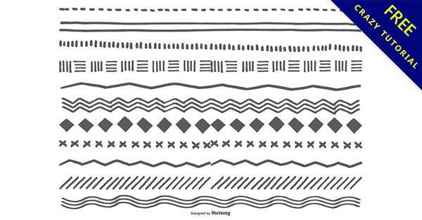 【手帳素材】分隔線推薦:27套精細的手帳素材下載
