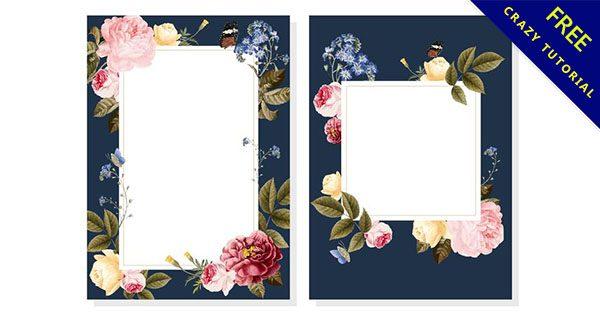 【花邊框圖案】嚴選23款高質感的花邊框圖案下載