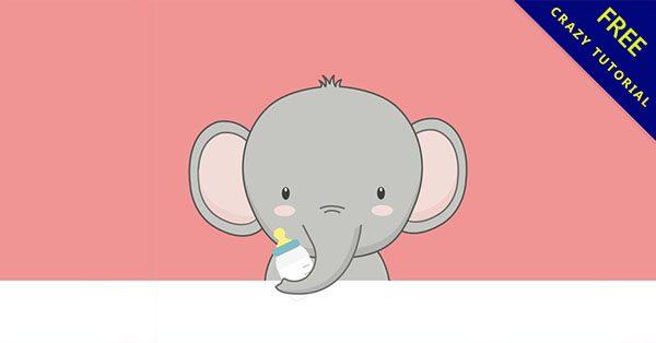 【大象圖案】小編推薦的20款可愛的大象圖案下載
