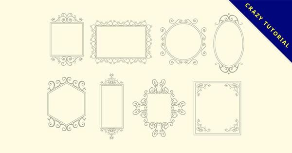 【美工圖案邊框】小編推薦的23款美工圖案邊框下載