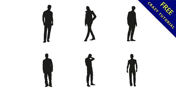 【人剪影】素材推薦:20套精細的人剪影下載