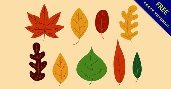 【葉子圖案】設計人必使用的22個高品質的葉子圖案下載