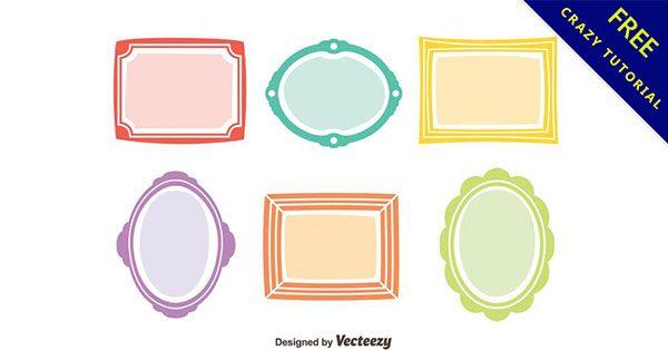 【框邊素材】設計人必使用的22張優質的框邊素材下載