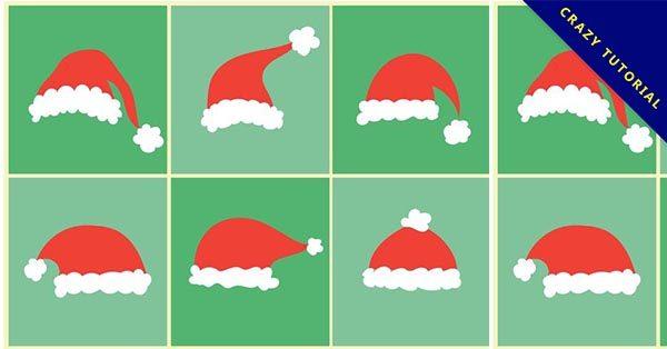 【聖誕帽素材】11款有設計感的聖誕帽素材下載,高品質圖示推薦