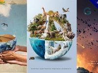 【愛護地球海報】12個有獨特感愛護地球海報的設計作品推薦