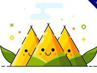 【粽子圖】12張端午節粽子圖案免費下載,LINE可使用
