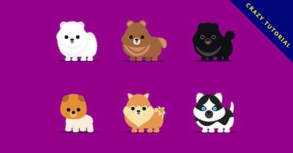 【小狗圖案】16個可愛的小狗圖案下載,高品質向量圖推薦