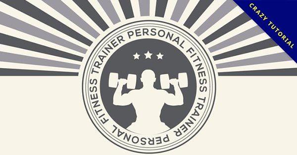 【健身房LOGO】17款高品質的健身房LOGO下載,優質素材推薦
