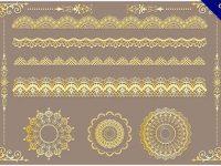 【花邊手繪】18張精細的手繪花邊設計下載,精細素材推薦