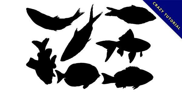 【魚剪影】19套高質量的小魚剪影圖下載,精緻矢量圖推薦