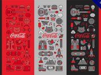 【可口可樂包裝】19張有設計感可口可樂包裝的精選範例推薦