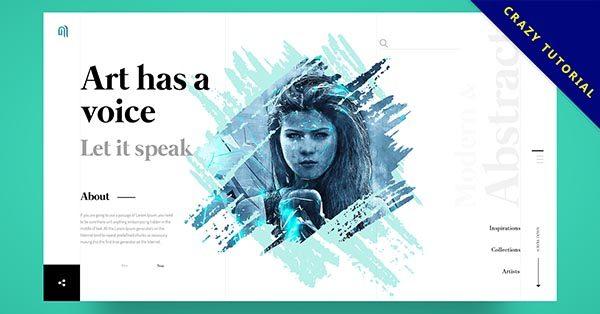 【網站設計】19款有設計感又好看的網站設計案例