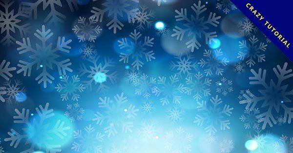 【雪花背景】21個優質的雪花背景下載,完美圖檔推薦